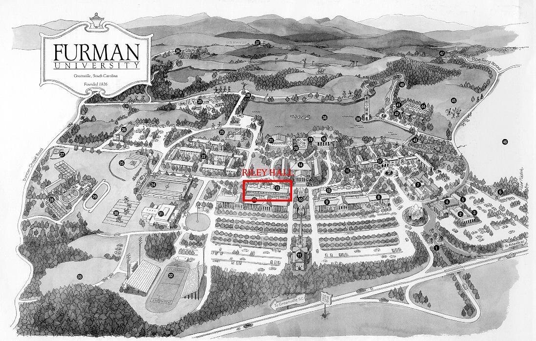 Furman Mathematics: Maps & Directions